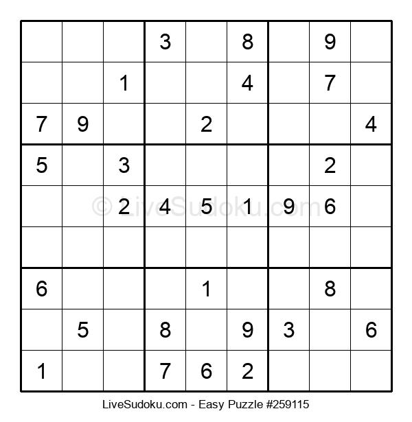 Beginners Puzzle #259115