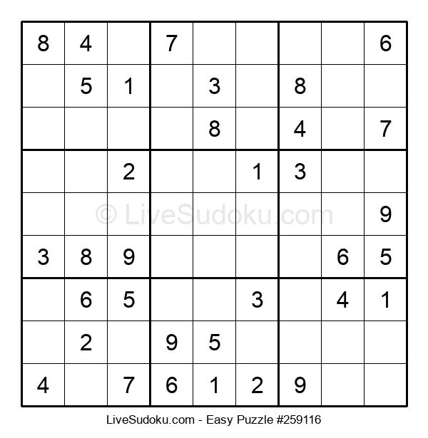 Beginners Puzzle #259116