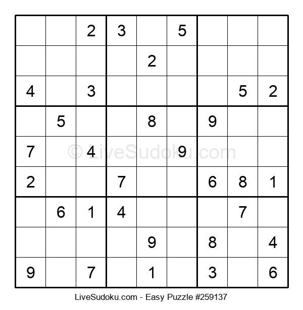 Beginners Puzzle #259137