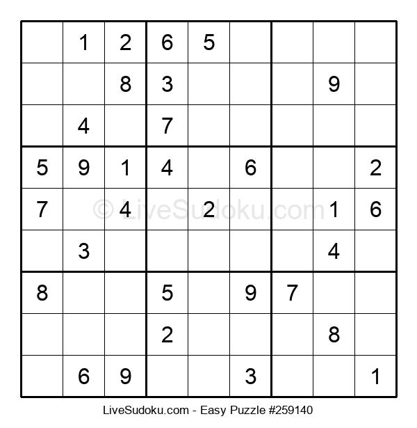 Beginners Puzzle #259140