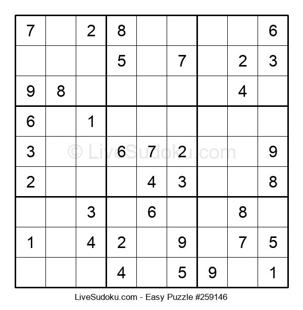 Beginners Puzzle #259146
