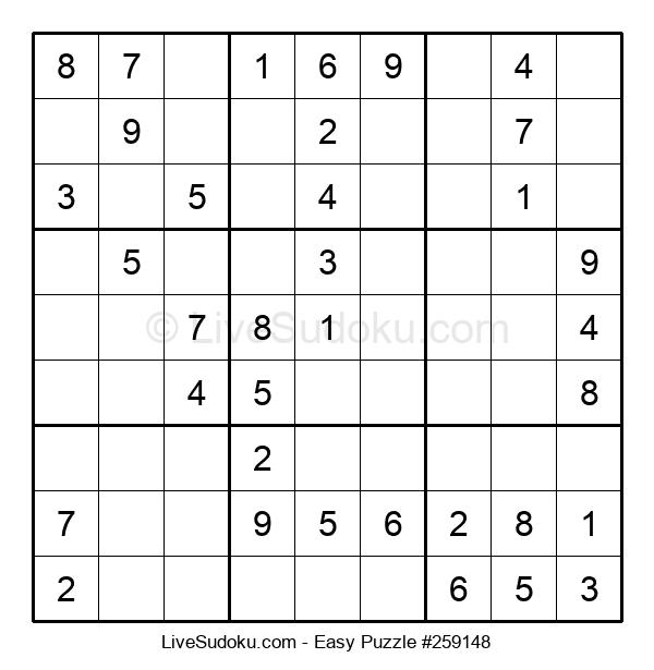 Beginners Puzzle #259148