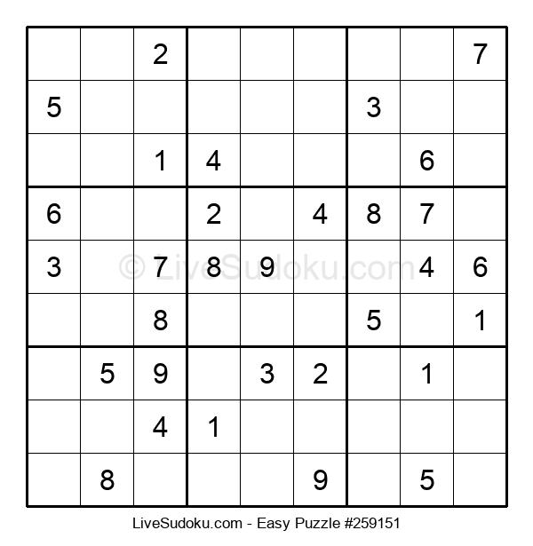 Beginners Puzzle #259151
