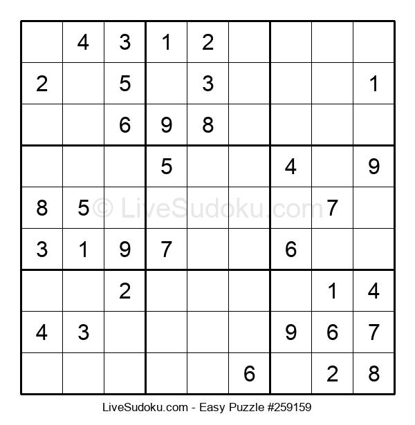 Beginners Puzzle #259159