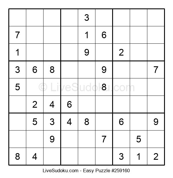 Beginners Puzzle #259160