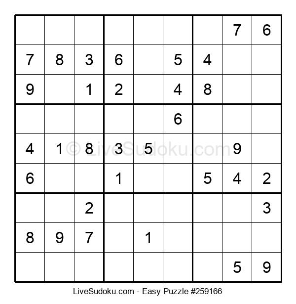 Beginners Puzzle #259166