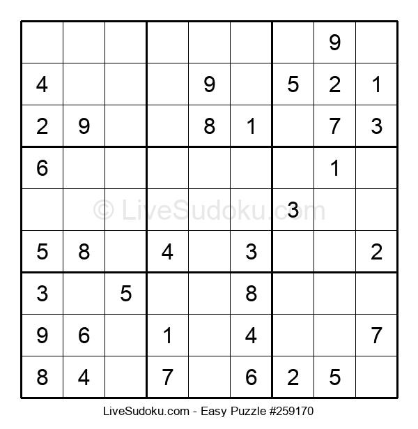 Beginners Puzzle #259170