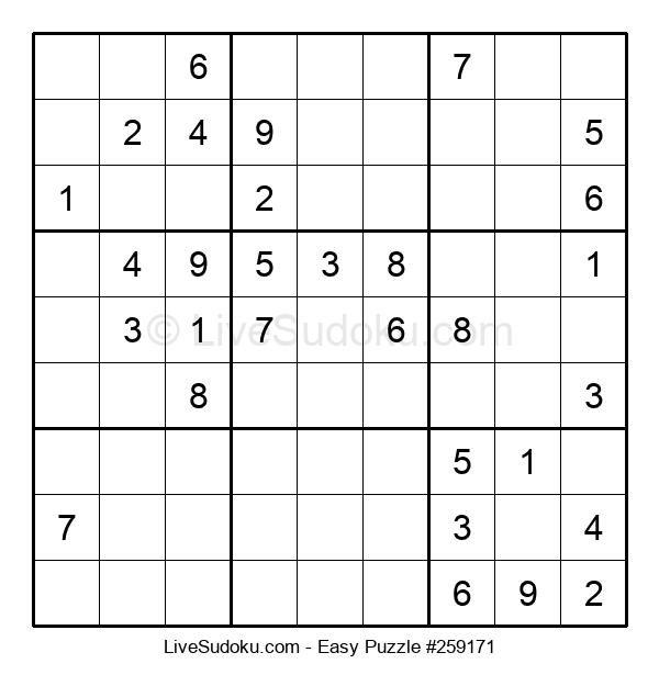 Beginners Puzzle #259171