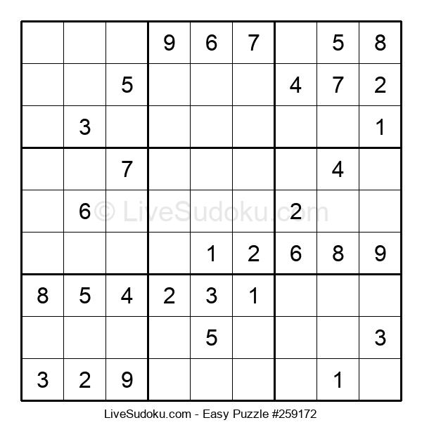 Beginners Puzzle #259172