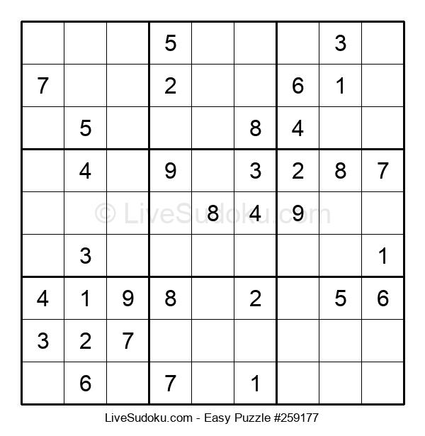 Beginners Puzzle #259177