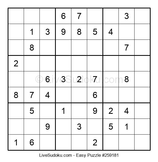 Beginners Puzzle #259181