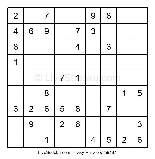 Beginners Puzzle #259187