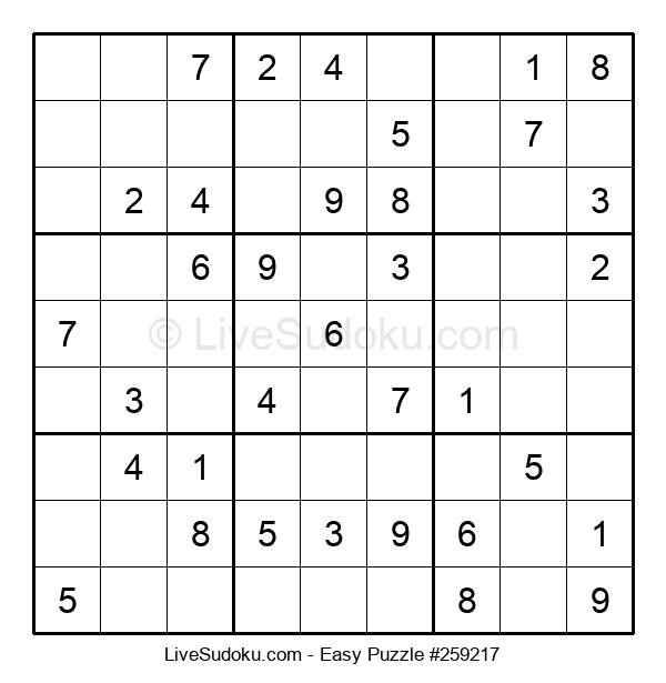 Beginners Puzzle #259217