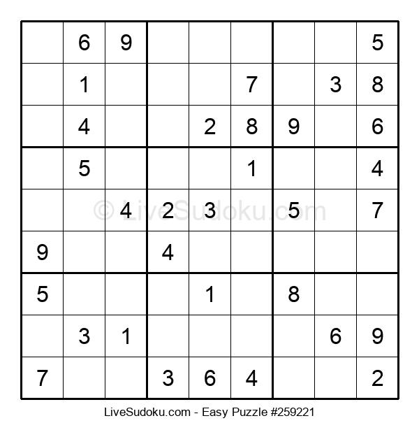 Beginners Puzzle #259221