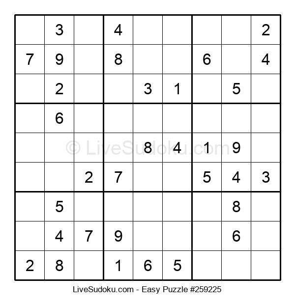 Beginners Puzzle #259225