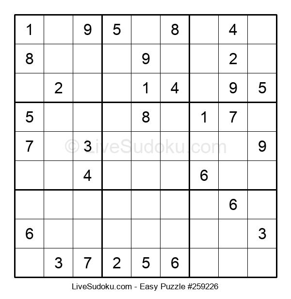 Beginners Puzzle #259226