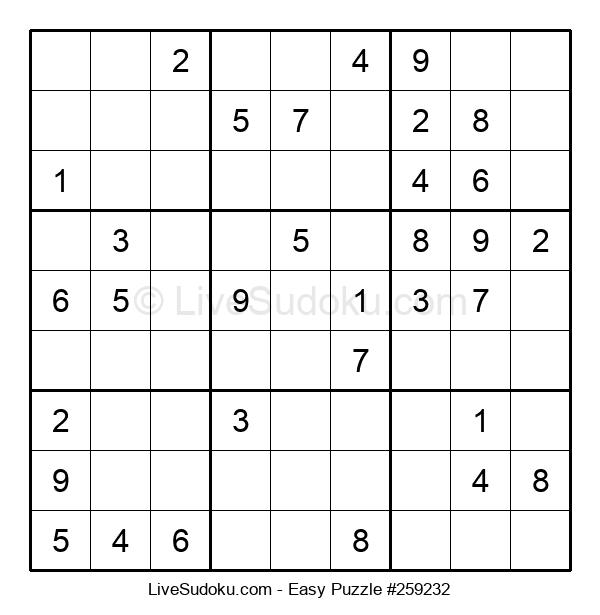 Beginners Puzzle #259232