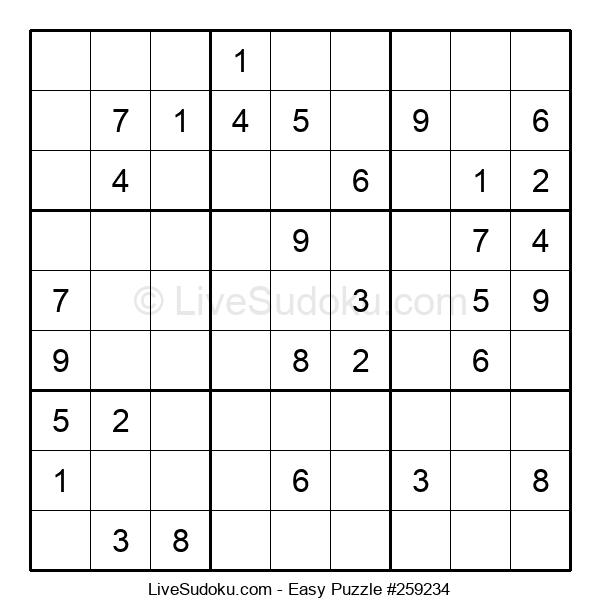 Beginners Puzzle #259234
