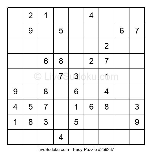 Beginners Puzzle #259237