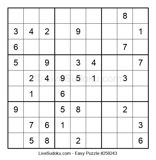 Beginners Puzzle #259243