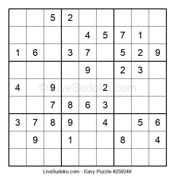 Beginners Puzzle #259249