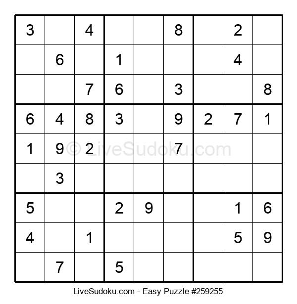 Beginners Puzzle #259255