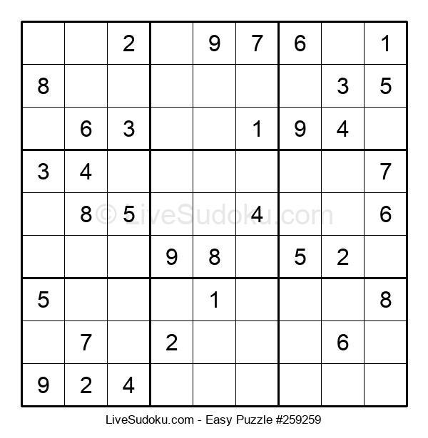 Beginners Puzzle #259259