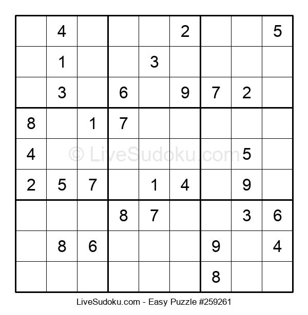Beginners Puzzle #259261
