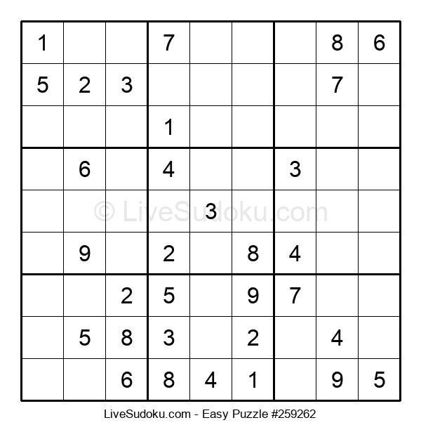 Beginners Puzzle #259262