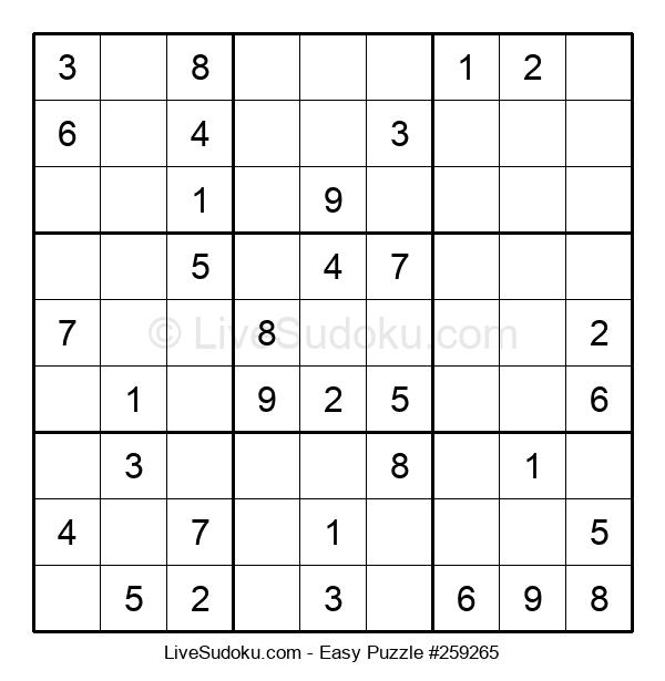 Beginners Puzzle #259265