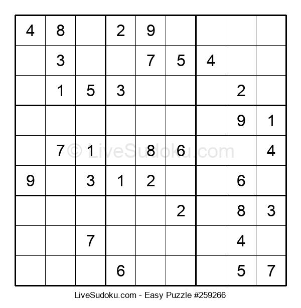 Beginners Puzzle #259266