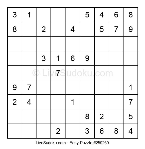 Beginners Puzzle #259269