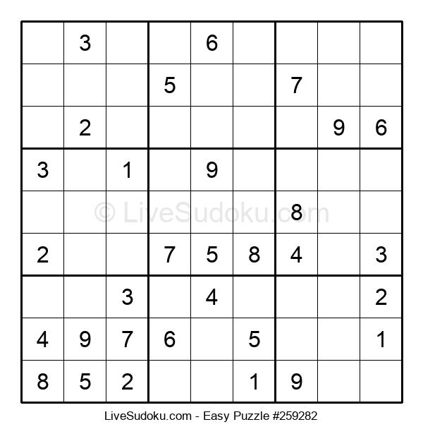 Beginners Puzzle #259282