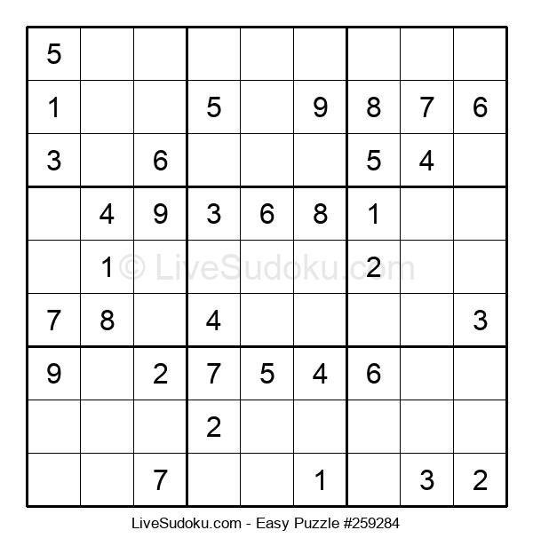 Beginners Puzzle #259284