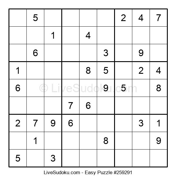 Beginners Puzzle #259291