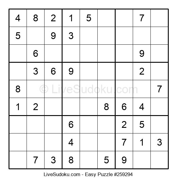 Beginners Puzzle #259294