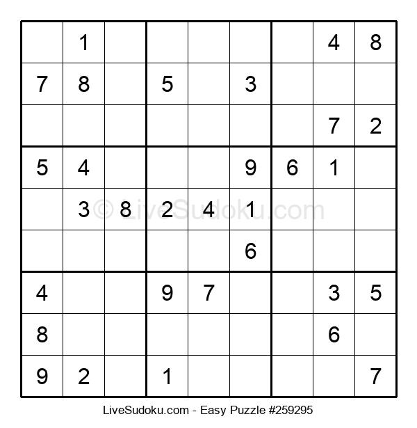 Beginners Puzzle #259295