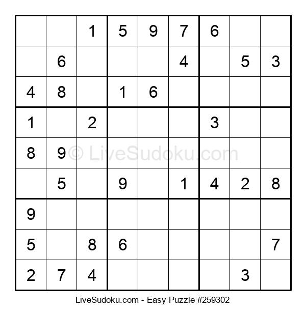 Beginners Puzzle #259302