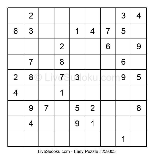 Beginners Puzzle #259303