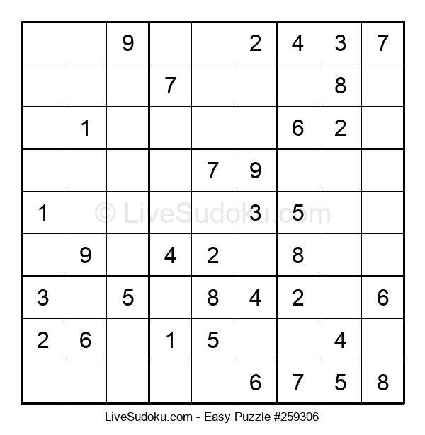 Beginners Puzzle #259306