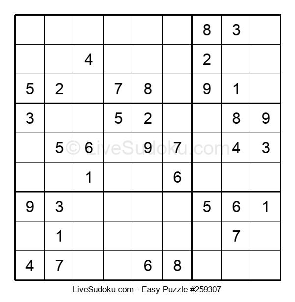 Beginners Puzzle #259307