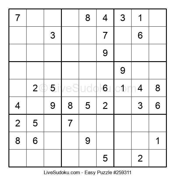 Beginners Puzzle #259311