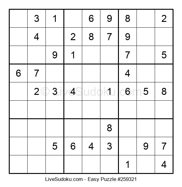 Beginners Puzzle #259321