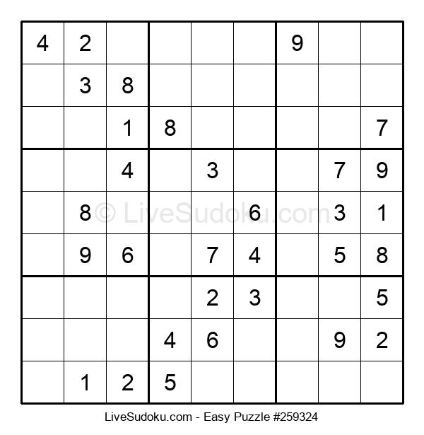 Beginners Puzzle #259324