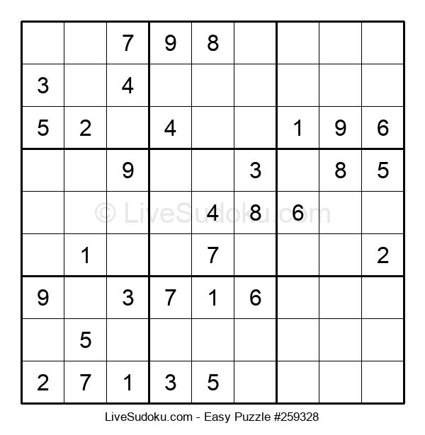 Beginners Puzzle #259328