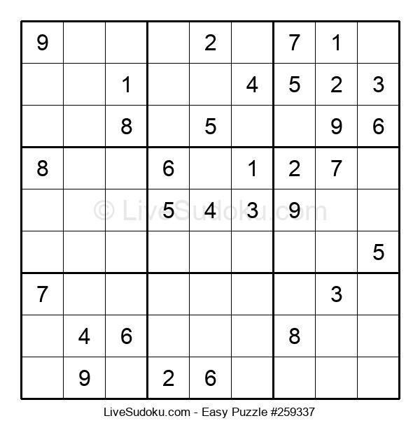 Beginners Puzzle #259337