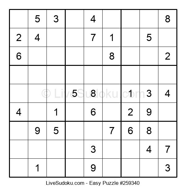 Beginners Puzzle #259340