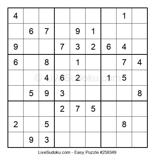 Beginners Puzzle #259349