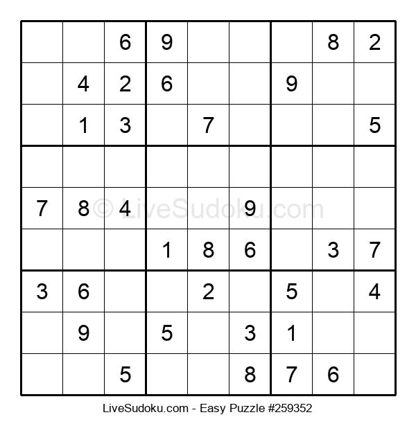 Beginners Puzzle #259352