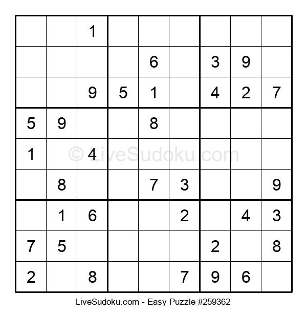 Beginners Puzzle #259362
